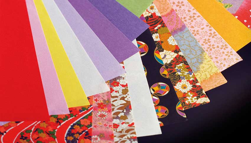 Types of Washi Paper