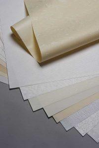 Washi paper samples