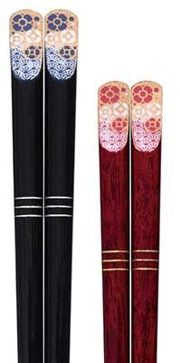 Lacquered chopsticks - Kinka